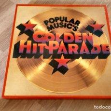 Discos de vinilo: POPULAR MUSIC'S (GOLDEN HIT PARADE) VARIOS DE 1956 A 1973 CAJA CON OCHO LP33. Lote 187466075