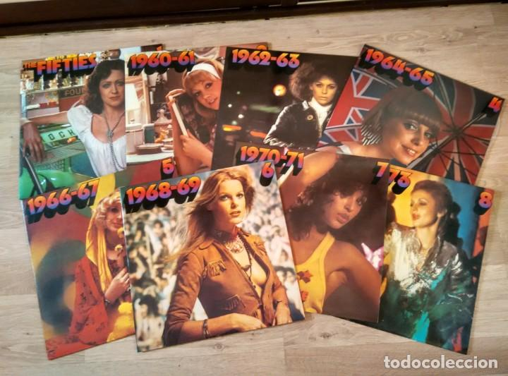 Discos de vinilo: POPULAR MUSIC'S (GOLDEN HIT PARADE) VARIOS de 1956 a 1973 CAJA CON OCHO LP33 - Foto 3 - 187466075