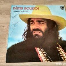 Discos de vinilo: DEMIS ROUSSOS - FOREVER AND EVER. Lote 187466091