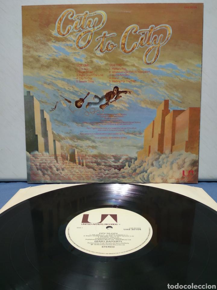Discos de vinilo: Gerry Rafferty - City To City ( Baker Street ) 1979 ED UK - Foto 2 - 187466127