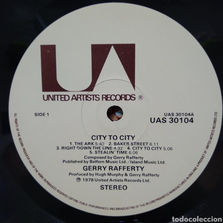 Discos de vinilo: Gerry Rafferty - City To City ( Baker Street ) 1979 ED UK - Foto 3 - 187466127