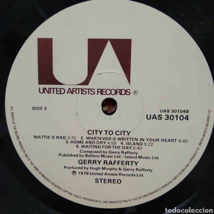 Discos de vinilo: Gerry Rafferty - City To City ( Baker Street ) 1979 ED UK - Foto 4 - 187466127