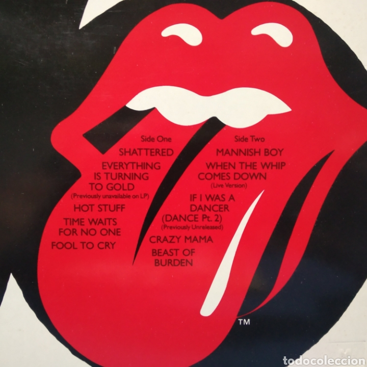 Discos de vinilo: The Rolling Stones - Sucking The Seventies 1981 Ed Alemana - Foto 5 - 187466393