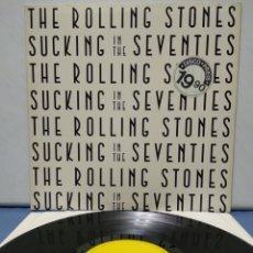 Discos de vinilo: THE ROLLING STONES - SUCKING THE SEVENTIES 1981 ED ALEMANA. Lote 187466393