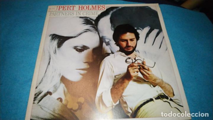 Discos de vinilo: RUPERT HOLMES LP PARTNERS IN CRIME INCLUIDA NOTA DE PRENSA - Foto 2 - 187466653
