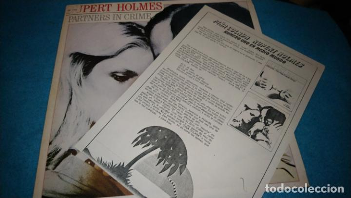 RUPERT HOLMES LP PARTNERS IN CRIME INCLUIDA NOTA DE PRENSA (Música - Discos - LP Vinilo - Pop - Rock - Extranjero de los 70)