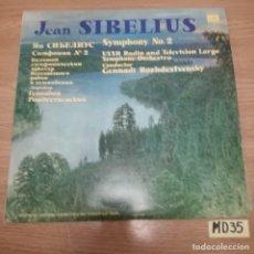 Discos de vinilo: JEAN SIBELIUS. Lote 187470891