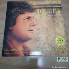Discos de vinil: BRAULIO. Lote 187470895