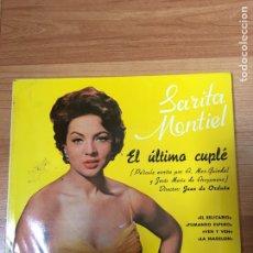 Discos de vinilo: SARA MONTIEL. Lote 187476551