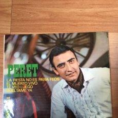 Discos de vinilo: PERET. Lote 187476685