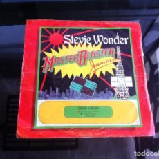 Discos de vinilo: SINGLE / EP. STEVIE WONDER. MASTER BLASTER. ESPAÑA, 1980. Lote 187482878