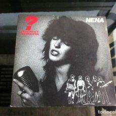 Discos de vinilo: SINGLE / EP. NENA. INTERROGACIÓN. TE QUIERO. ESPAÑA, 1984. Lote 187484620