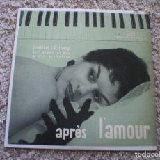 Discos de vinilo: LP. PIERRE DORSEY. APRES L´AMOUR. . Lote 187484983