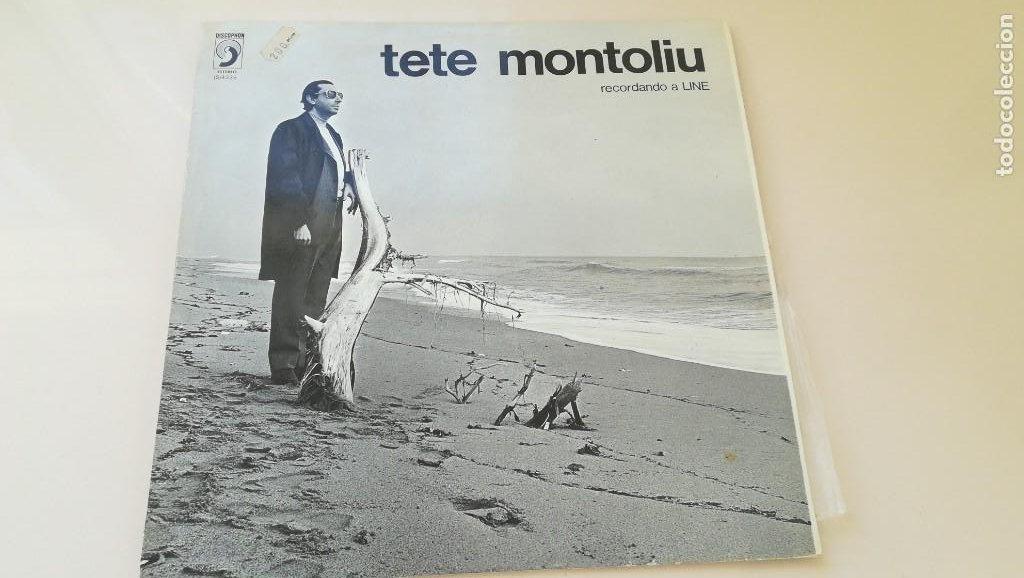 LP TETE MONTOLIU RECORDANDO A LINE DISCOPHON 1972 (Música - Discos - Singles Vinilo - Jazz, Jazz-Rock, Blues y R&B)