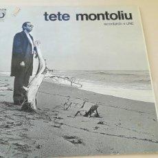 Discos de vinilo: LP TETE MONTOLIU RECORDANDO A LINE DISCOPHON 1972. Lote 187485658