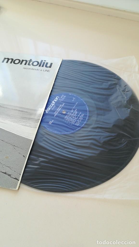 Discos de vinilo: LP TETE MONTOLIU RECORDANDO A LINE DISCOPHON 1972 - Foto 4 - 187485658