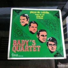 Discos de vinilo: SINGLE / EP. BADY'S QUARTET. PLAYA DE CALELLA. HAPPY THE END. JUERGA CALE. FRIVOLIDAD.ESPAÑA, 1971. Lote 187488776