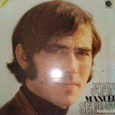 Discos de vinilo: LP JOAN MANUEL SERRAT. Lote 187490082