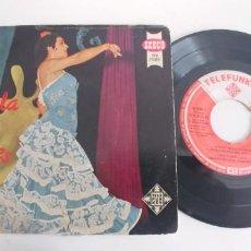 Discos de vinilo: LOLA FLORES-EP LA VELETA +3. Lote 187492386