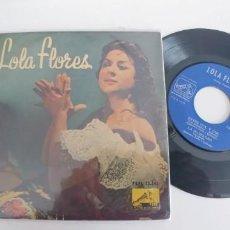 Discos de vinilo: LOLA FLORES-EP MANOLITA LA PRIMERA +3-BUEN ESTADO. Lote 187492977