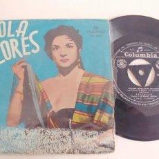 Discos de vinilo: LOLA FLORES-EP OLE DOLORES +3. Lote 187493642