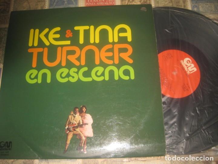 IKE & TINA TURNER EN ESCENA.( GRAMUSIC 1975,) EDITADA ESPAÑA EXCELENTE CONDICION (Música - Discos - LP Vinilo - Jazz, Jazz-Rock, Blues y R&B)