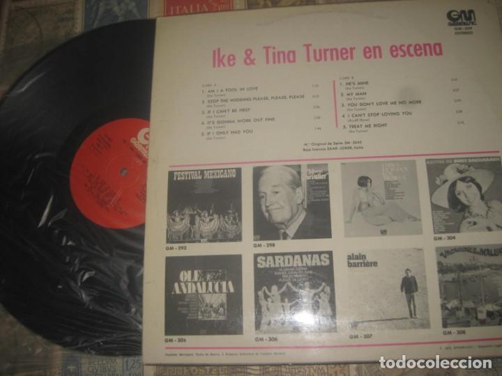 Discos de vinilo: Ike & Tina Turner en escena.( Gramusic 1975,) editada españa excelente condicion - Foto 2 - 187494805