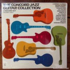 Discos de vinilo: THE CONCORD JAZZ GUITAR COLLECTION, VOLUMES 1 AND 2 - 1981 - EDICIÓN AMERICANA - PRECINTADO. Lote 187499240
