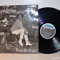 Discos de vinilo: WHITNEY HOUSTON - I'M YOUR BABY TONIGHT LP BMG 211039 5C ESPAÑA 1990 EX/VG++. Lote 187503642