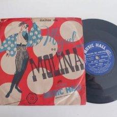 Discos de vinilo: MIGUEL DE MOLINA-EP MI RITA BONITA +3. Lote 187506080