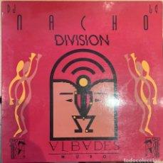 Discos de vinilo: NACHO DJ DIVISION – ALBADES MURO. DISCO VINILO. ENTREGA 24H. Lote 187509760