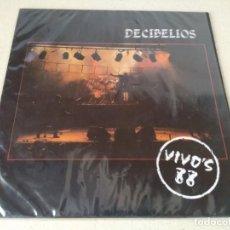 Discos de vinilo: DISCO VINILO DECIBELIOS VIVO'S 88. PERFECTO ESTADO. Lote 187510582