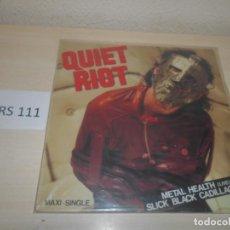 Discos de vinilo: CD - QUIET RIOT , MAXI SINGLE . Lote 187512230