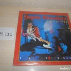 Discos de vinilo: CD - YNGWIE HALMSTEEN , TRIAL BY FIRE - LIVE IN LENINGRAD - VINILLO. Lote 187512321