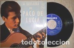 LA GUITARRA DE PACO DE LUCIA EP – VINILO - 1964 (Música - Discos de Vinilo - EPs - Flamenco, Canción española y Cuplé)