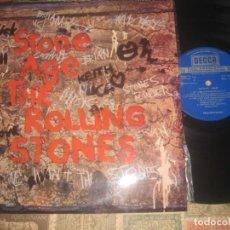 Discos de vinilo: THE ROLLING STONES STONE AGE (1971 -DECCA )OG ESPAÑA SIN SEÑALES DE USO. Lote 187515193