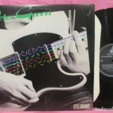Discos de vinilo: PETER GREEN ~ LITTLE DREAMER / FLEEWOOD MAC, GREAT BLUES GUITAR ! RARE ORG EDT USA, IMPECABLE. Lote 187520095