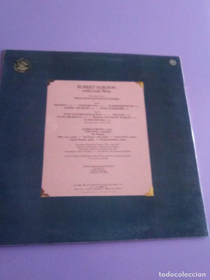 Discos de vinilo: LP DE ROBERT GORDON WITH LINK WRAY GUITAR. RED HOT.SELLO RCA PL 13296.SPAIN.1980. - Foto 5 - 187520651