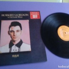 Discos de vinilo: LP DE ROBERT GORDON WITH LINK WRAY GUITAR. RED HOT.SELLO RCA PL 13296.SPAIN.1980.. Lote 187520651