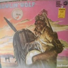 Discos de vinilo: HOWLIN' WOLF - CHESS BLUES MASTER SERIES. 2 LPS. Lote 187521626