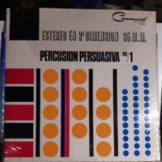 Discos de vinilo: TERRY SNYDER Y SUS ESTRELLAS*PERCUSION PERSUASIVA VOL 1. Lote 187522057