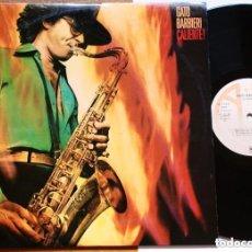 Discos de vinilo: LP - GATO BARBIERI - CALIENTE! (A&M, 1977) - VINYL , JAZZ, LATIN. Lote 187531620