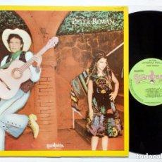 Discos de vinilo: PETER ROWAN (1ER LP) - (GUIMBARDA, 1980) EJEMPLAR PROMO - FLACO JIMÉNEZ, TEX-MEX, BLUEGRASS, COUNTRY. Lote 187531948