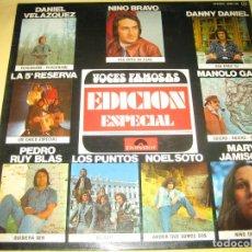 Discos de vinilo: VOCES FAMOSAS - ED. ESPECIAL - 1976. Lote 187534048