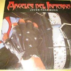 Discos de vinilo: ANGELES DEL INFIERNO - VINILO MUY BUEN ESTADO - 1986. Lote 187534118