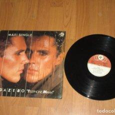 Discos de vinilo: GAZEBO - FOR ANITA - SPAIN - MAXI - SPAIN - BABY RECORDS - LV - . Lote 187534438