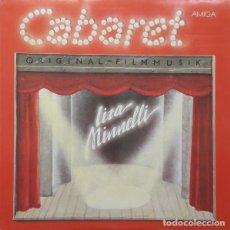 Discos de vinilo: CABARET - BSO PELICULA - EDICION AMIGA 1982-ALEMANIA DEL ESTE. Lote 187542737
