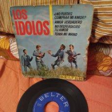 Discos de vinilo: SINGLES LOS ÍDOLOS NO PUEDES COMPRAR MI AMOR. Lote 187543341