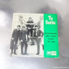 Discos de vinilo: THE BEATLES ---ROCK AND ROLL MUSIC -- 1ª EDICION ORIGINAL 1964 ---LABEL AZUL -DSDE 16.641. Lote 167546064