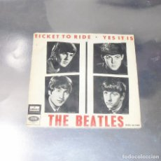 Discos de vinilo: THE BEATLES ---TICKET TO RIDE -- 1965 ---LABEL VERDE ---VINILO ( NEAR MINT ( NM ) FUNDA VG +. Lote 169022936